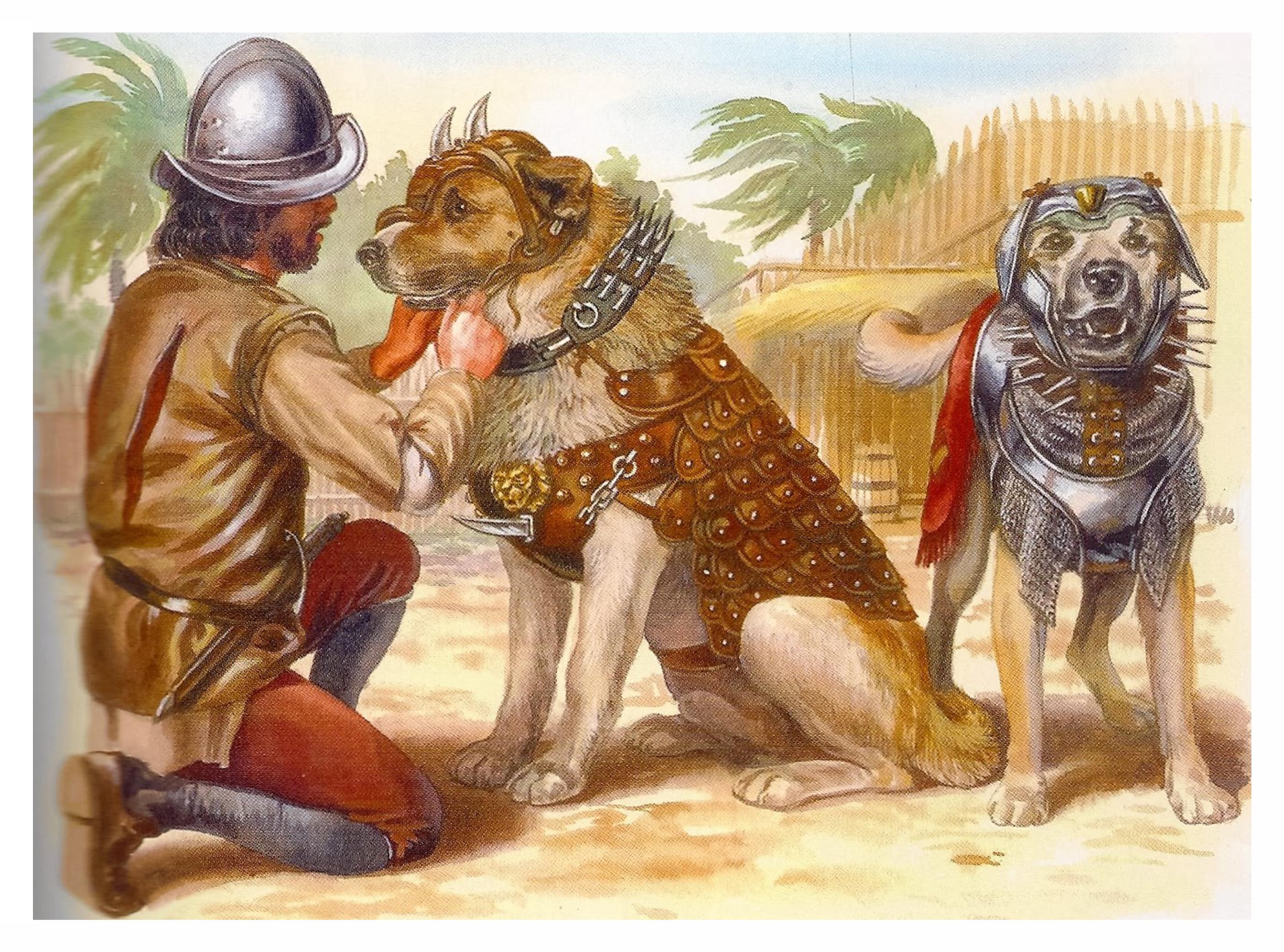 Древняя собака картинка